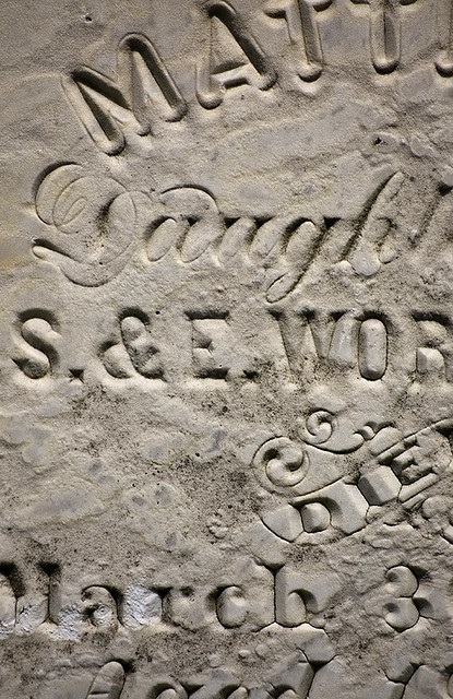 Tombstone Typography // Tom Davie