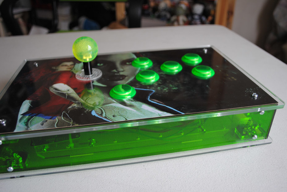 Check out my new arcade stick!