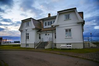 Hofdi House in Reykjavik, Iceland