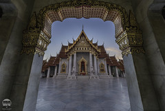 The Marble Temple ( Wat Benchamabophit )