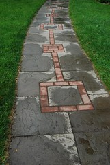 Sidewalk after rain