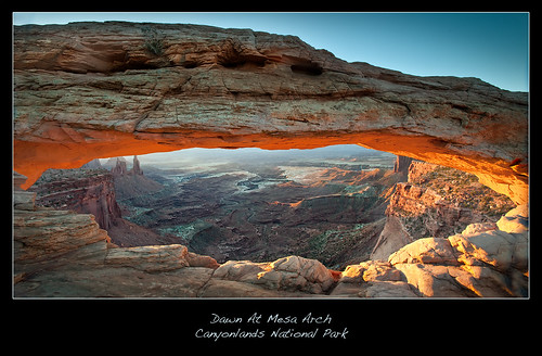 Dawn At Mesa Arch