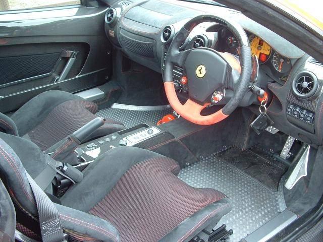 Ferrari F430 Scuderia Red Interior