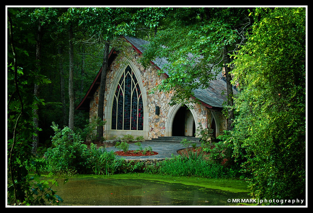 Ida Cason Memorial Chapel, Callaway Gardens, Pine Mountain, Georgia, USA