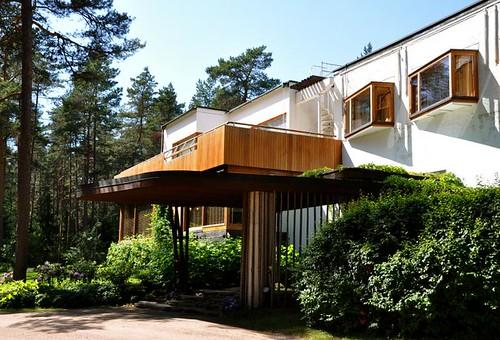 Arch 329 lain le corbusier mies van der rohe and alvar aalto modern residential house - Villa mairea alvar aalto ...