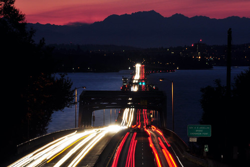 bridge mountains night landscape nikon floating lakewashington olympic olympics 520 floatingbridge evergreenpoint davidhogan d5000