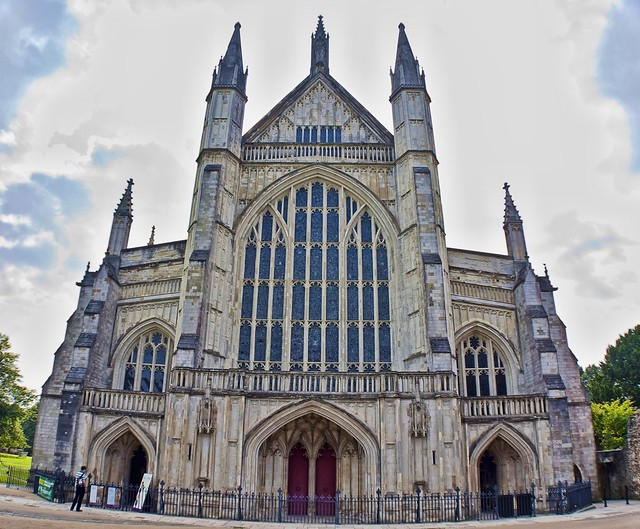 Winchester Cathedral - Wide