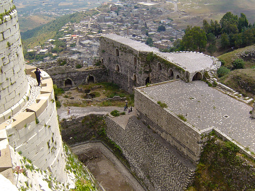 From the tower, Krak Des Chevaliers