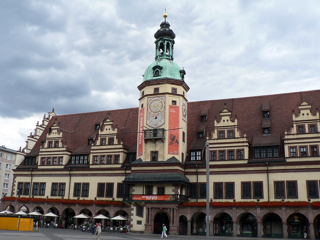 Leipzig's Old Town Hall