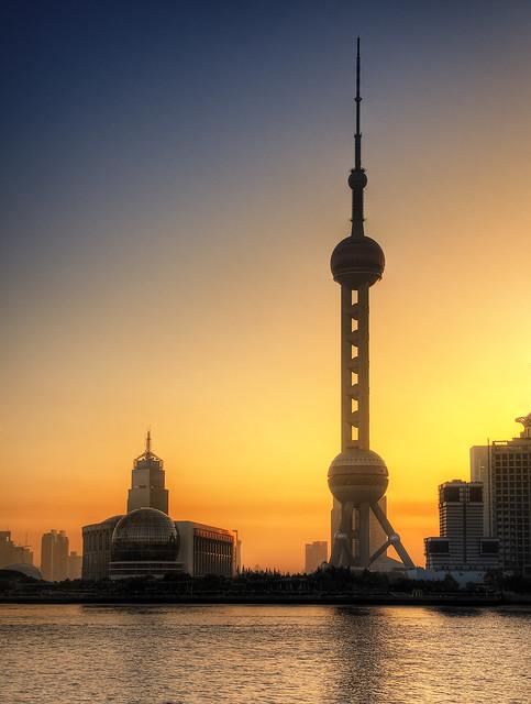 Oriental Pearl Sunrise
