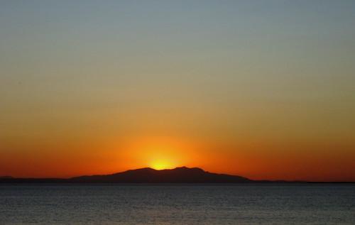 Sunset over 'Lésvos'