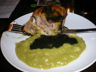 Pork Pie and Mushy Peas