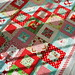 sunshine on the christmas quilt top