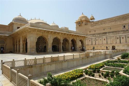 Villas y dormitorios de la alta sociedad del Palacio de Amber fuerte amber, una de las siete maravillas de la india - 4143456616 91b2e0f1ce - Fuerte Amber, una de las siete maravillas de la India