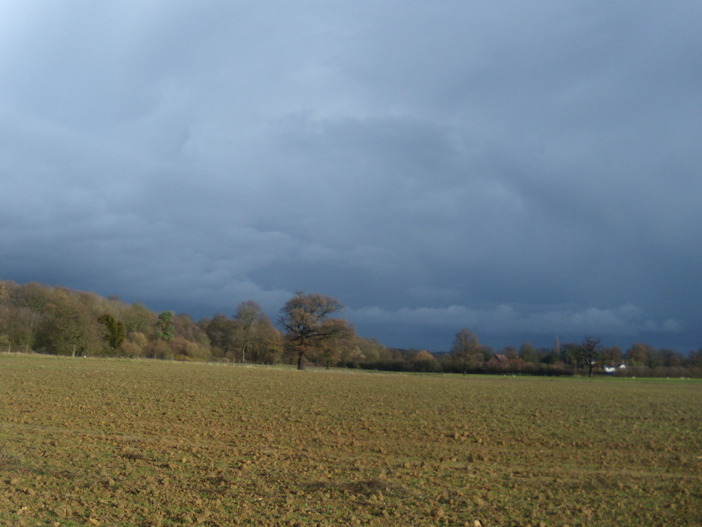 Ominous sky Leigh to Sevenoaks
