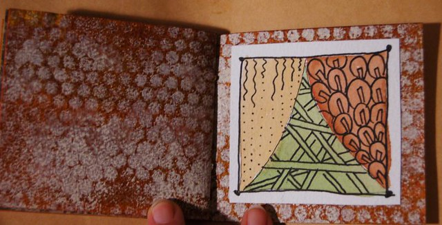 Little Book of Fall Zentangles (Photo Copyright Hanna Andersson)