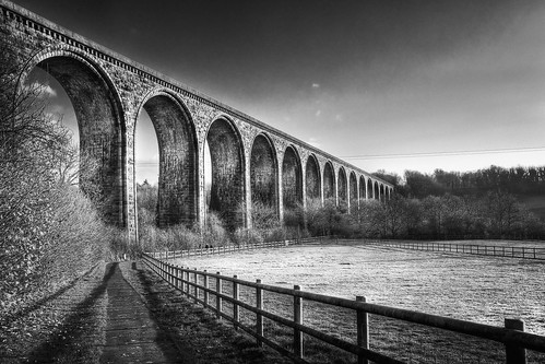 Viaduct - Black and White