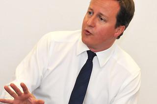 David Cameron visits Queen Elizabeth Hospital Birmingham