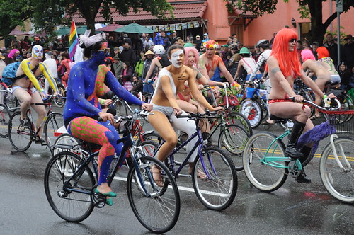 Fremont Solstice Parade 2011 - cyclists 128