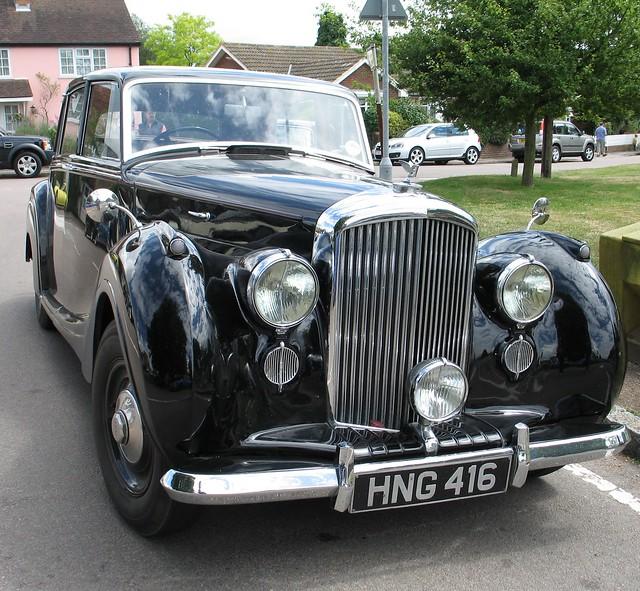 Bentley Photographs Technical Bentley Cars: 1947 Bentley Mark VI