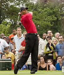 Tiger Woods, Model of golf fitness