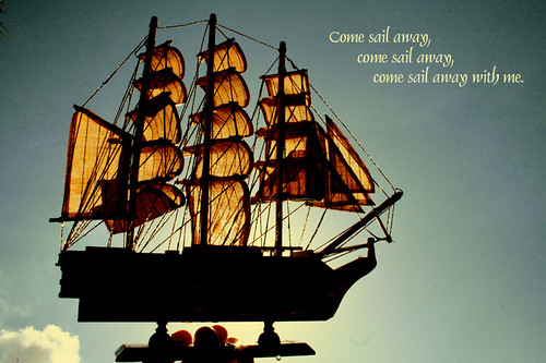 Day 333/365 Come sail away with me.