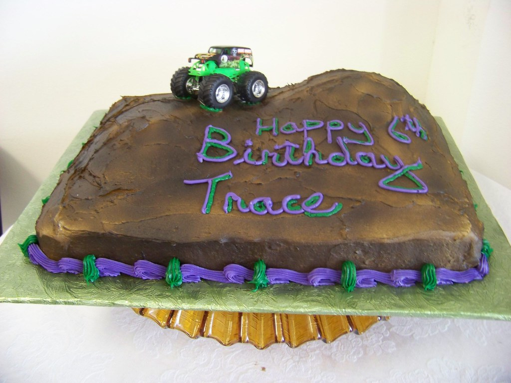 Outstanding Grave Digger Birthday Cake Tc27Jkw Flickr Funny Birthday Cards Online Alyptdamsfinfo
