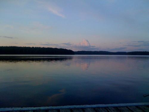 travel sunset finland europe