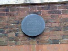 Photo of Samuel Cresswell grey plaque