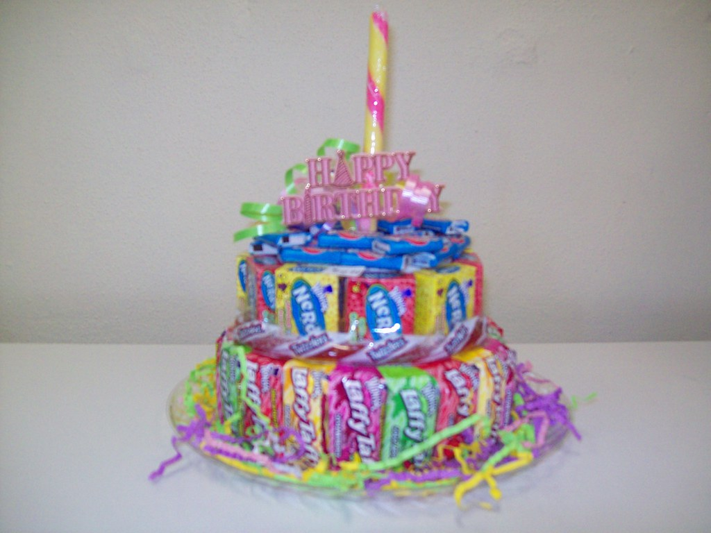 Birthday Cake This Little Cake Is Make With 4 Flavors Of