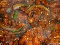 curry, meat, general tso's chicken, produce, food, dish, cuisine,