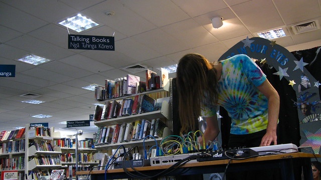 Adam Willetts live at Shirley Library