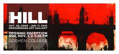 Nicholas Hill invitation card