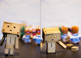 Sneaking up on Danbo - Explored