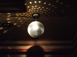 mirror ball@Shot Place Kame(Osaka Noda)