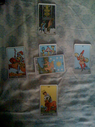 tarot card spreads