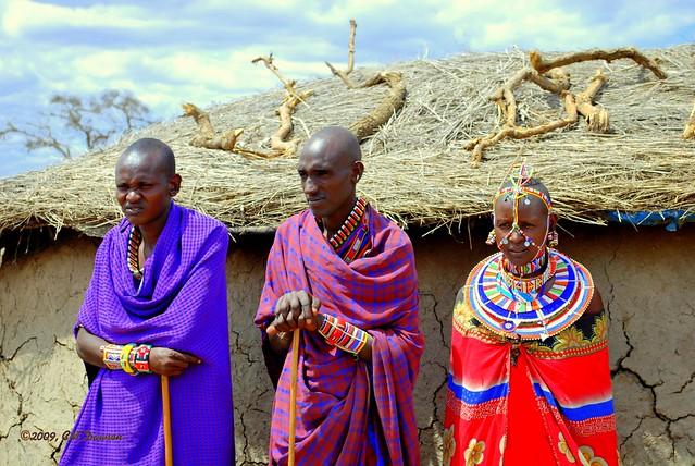 Maasai Bridal Party