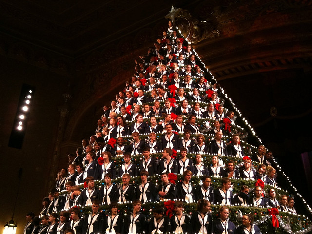 America's Tallest Singing Christmas Tree