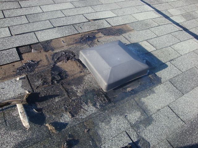 How To Repair Leaking Roof Roof Vent Area leak | Flickr - Photo Sharing!