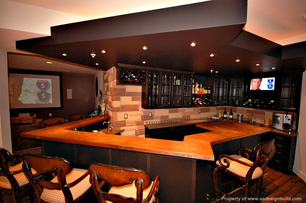 Man Cave Bar Counters : Aadesignbuild a design build remodeling