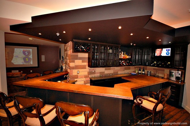 A a design build remodeling for Man cave designer