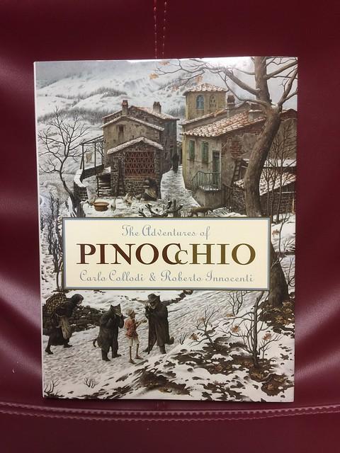 Header of Adventures of Pinocchio