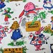 Small photo of Vintage Alice in Wonderland Fabric