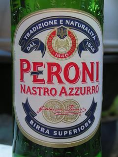 Peroni, Nastro Azzurro, Italy