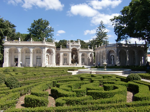 Cascade Garden - Belém's Palace  - Official Residence of the President of the Republic - Lisbon