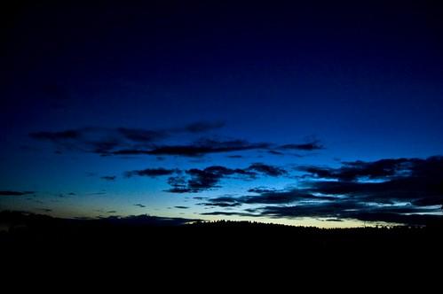 sky skyline night clouds sweden östergötland ringarum storanorrby sweden2009