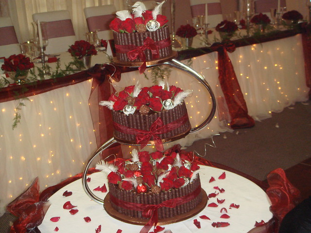 chocolate truffle wedding cake a three tier for a fairytale wedding in the