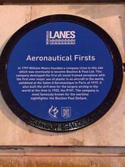 Photo of William Moore blue plaque