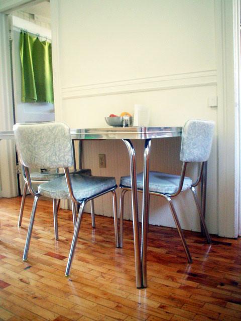 Chrome Formica Kitchen Sets