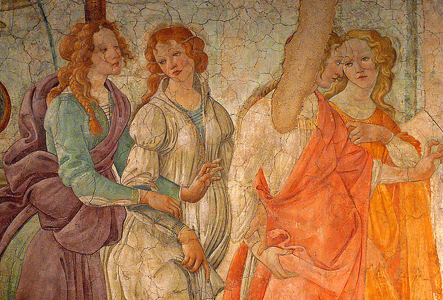 Sandro Botticelli, Venus and the Three Graces